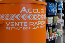 Accueil de la Pharmacie Mairie Bron