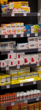 Médicaments en libre service