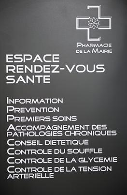 Les services proposés par la pharmacie de bron